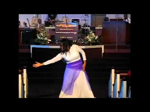 christy kee - Praise dancer Christy Hughes of Full Gospel Assembly in Huntington (WV) presented an interpretative dance in praise at a special musical celebration at Bisho...