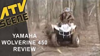 8. Yamaha Wolverine 450 4x4