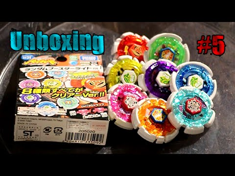 Beyblade Metal Fight Random Booster Volume 1 Unboxing #5! Can We Get The Prize Bey?