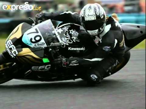National Superbike Racer Janine Mitchell Part 2 (16.02.2012)