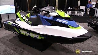 10. 2016 Sea Doo Wake 215 Pro Jet Ski - Walkaround - 2016 Toronto Boat Show