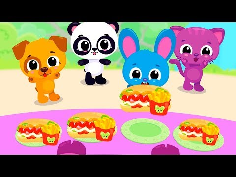 Fun Cooking Kitchen Kids Games - Cute & Tiny Food Trucks Festival - Ice Cream, Pizza, Bake Games