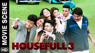 Nonton Akshay  Riteish  Abhishek Meet Boman   Housefull 3   Movie Scene Film Subtitle Indonesia Streaming Movie Download