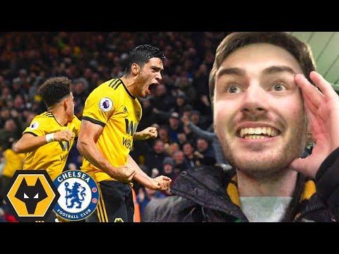 JIMENEZ & JOTA COMPLETE COMEBACK! Wolves Vs Chelsea 2-1 Matchday Vlog