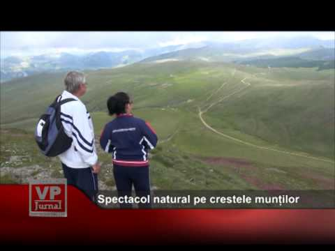 Spectacol natural pe crestele munților