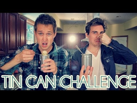 Luke - TIN CAN CHALLENGE! Watch Landon's video: http://youtu.be/ZF-72pdoqrM Watch Star Wars Cats! http://youtube.com/watch?v=Z3bf-C_ou7Y Previous vlog! http://youtu...