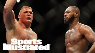 Former UFC fighter Brock Lesnar said he is willing to take on Jon Jones in a bout that could be one of the sport's biggest draws, but added Jones has to worry about his opponent this week.Subscribe to ►► http://po.st/SubscribeSIFollow the latest NFL news and highlights, with updates on your favorite team and players. Want to know what's up with Russell Wilson, Cam Newton, Tom Brady and more? We've got you covered:http://po.st/PlaylistSI-NFLCan the Cleveland Cavaliers repeat? Will the Golden State Warriors make history again? Keep up with all the important NBA updates, including news on LeBron James, Kevin Durant, Steph Curry and more:http://po.st/PlaylistSI-NBAFrom Bryce Harper and Mike Trout to Clayton Kershaw and Madison Bumgarner, Sports Illustrated brings you the smartest commentary and inside stories on the latest MLB news:http://po.st/PlaylistSI-MLBCheck out the most recent clips and highlights from episodes of SI Now, Sports Illustrated's daily talk show. From interviews with the biggest newsmakers to discussions with our award winning writers and editors, SI Now is your spot for all things  football, basketball, baseball and everywhere else around the world of sports:http://po.st/PlaylistSI-NowThe best of SI's award-winning video storytelling. From household names to the lesser known, SI Films' features and series explore the most powerful stories in sports:http://po.st/PlaylistSI-FilmsCONNECT WITH Website: http://www.si.comFacebook: http://po.st/FacebookSITwitter: http://po.st/TwitterSIGoogle+: http://po.st/GoogleSIInstagram: http://po.st/InstagramSIMagazine: http://po.st/MagazineSIABOUT SPORTS ILLUSTRATEDSports Illustrated offers sports fans trusted, authentic, agenda-free reporting and storytelling featuring sports news, scores, photos, columns and expert analysis from the latest in today's world of sports including NFL, NBA, NHL, MLB, NASCAR, college basketball, college football, golf, soccer, tennis, and fantasy.Brock Lesnar On Potential Jon Jones Super