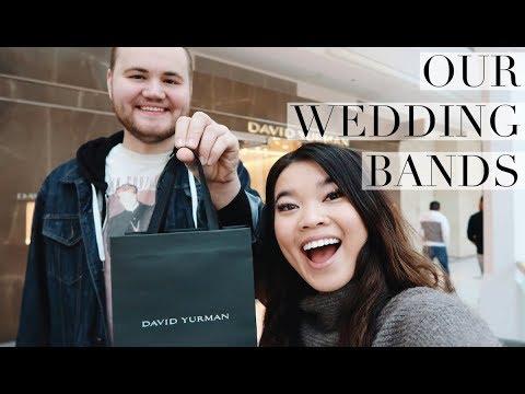 OUR WEDDING BANDS & CHRISTMAS VLOG