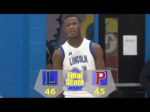 Lincoln - 46 St. Peter's Prep - 45 in OT   NJ High School Basketball   2018