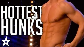 Video TOP 10 SEXIEST HUNKS on Got Talent | Got Talent Global MP3, 3GP, MP4, WEBM, AVI, FLV Maret 2019