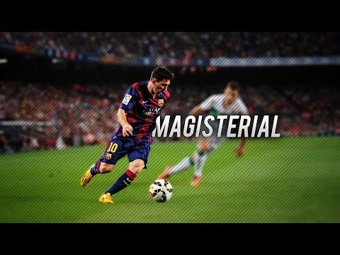 messi! - Thank you guys so much for 200000 Subscribers! Leo Messi the magic man amazing skills & goals 2014-2015 in 1080p. ------------------------------------------------------------------ STAY...