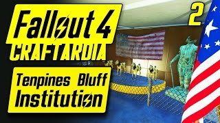 Fallout 4 Tenpines Bluff Institution #2 - Base Building Timelapse - Fallout 4 Settlement Building PC