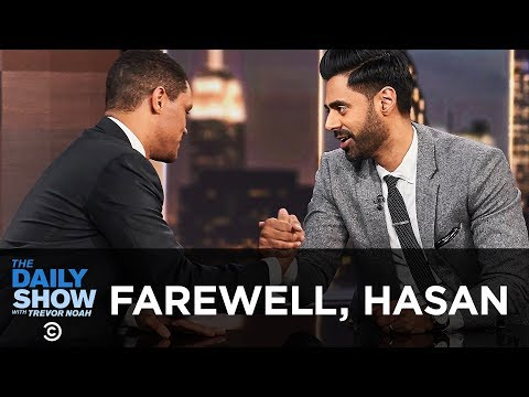 Hasan Minhaj Says Goodbye to The Daily Show | The Daily Show (видео)