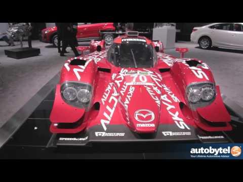 Mazda Skyactiv-D Prototype Racecar With John Doonan