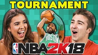 Video NBA 2K18 BASKETBALL TOURNAMENT (React: Gaming) download in MP3, 3GP, MP4, WEBM, AVI, FLV January 2017