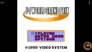 F-1 World Grand Prix: Time Trials: Rookie: Track 04 San Marino GP [Best Lap] (Game Boy Color Emulated) by omargeddon