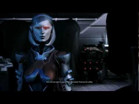 Mass Effect 3 Citadel DLC: EDI's once again in control of the Normandy (видео)