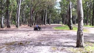 7. KYMCO MXU 150 - PRIMERA SALIDA DE FRANCO EN EL PARQUE ROOSVELT