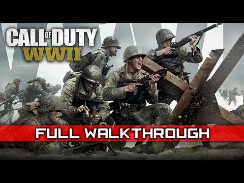 CALL OF DUTY: WW2 – Full Campaign Gameplay Walkthrough (No Commentary) 1080p HD (видео)