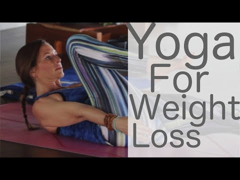 Yoga for Weight Loss and Leg Strength with Lesley Fightmaster and 20% off at Anjali Clothing
