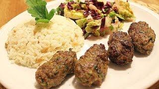 maydanozlu köfteler  türk köftesi  et yemekleri  hızlı pratik yemek tarifi  canandan tarifler