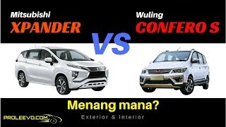 Video Mitsubishi Xpander VS Wuling Confero S, Exterior & Interior. | Proleevo Channel MP3, 3GP, MP4, WEBM, AVI, FLV Januari 2018