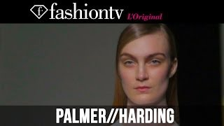 Palmer//harding Fall/Winter 2014-15 | London Fashion Week LFW | FashionTV