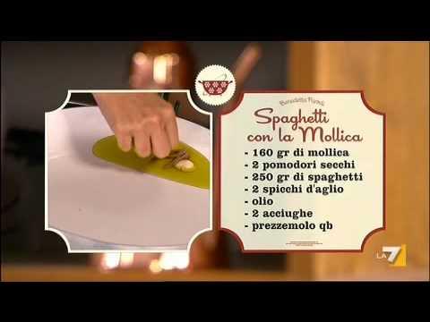 in soli 30 secondi un piatto siciliano: la pasta con la mollica