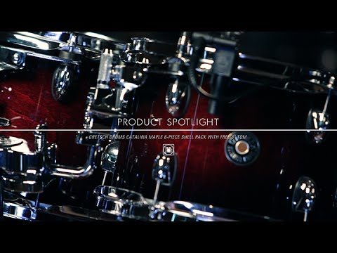 "Product Spotlight - Gretsch Catalina Maple 6 Piece Drum Kit With Free 8"" Tom"