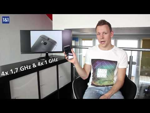 Youtube Video HTC One M8s gunmetal grey