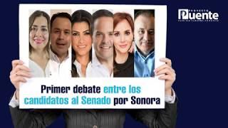 Video Debate INE con los candidatos al Senado por Sonora, posdebate con periodistas en el estudio digital MP3, 3GP, MP4, WEBM, AVI, FLV Mei 2018