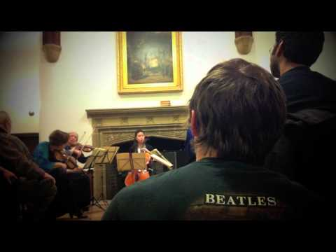 Molly Allis - A wonderful trip to the frigid east, playing cello for the fantastic Molly Allis Molly's music is in the background and her website is http://mollyallis.band...