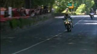 Valentino Rossi pays a visit to the Isle Of Man TT, 2009.