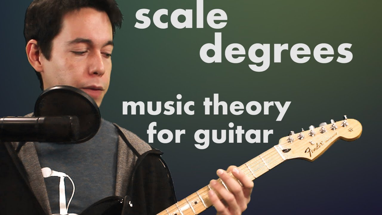 Learn Scale Degrees- Music Theory for Guitar Players