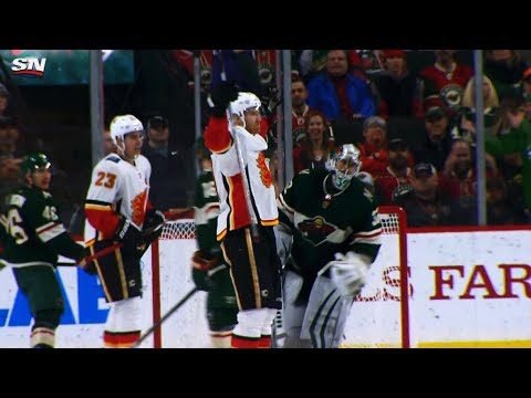 Video: Dougie Hamilton ends it in overtime as Flames dump Wild
