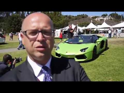 Filippo Perini - Head of Design Filippo Perini shows us what Lamborghini brought to the 2013 Concorso Italiano and fills us in on what makes a Lamborghini.
