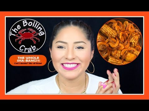 "RECETA DE THE BOILING CRAB! ""THE WHOLE SHA-BANG! - Queen AbbyTips #boilingcrab"