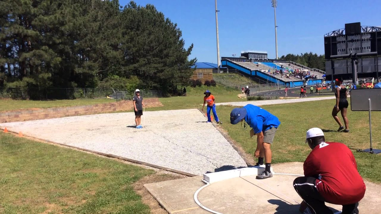 Taliyah Manning – Shot Put (2nd throw – Prelims) @ GHSA AAAAA Sectional A Track Meet