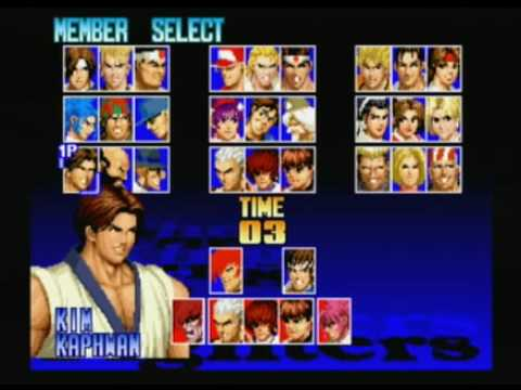 the king of fighters 97 playstation 2 dicas