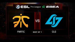 fnatic vs CLG, game 1