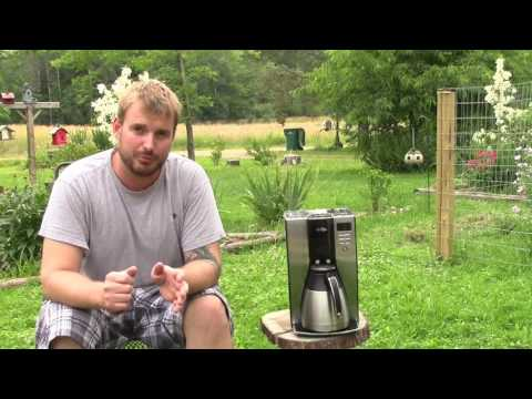 Mr. Coffee Maker Review - WARNING!!