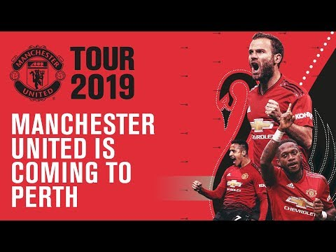 Manchester United Announce Tour 2019
