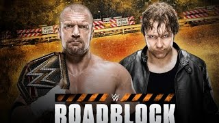 Nonton Wwe Roadblock 2016     12 March 2016 Film Subtitle Indonesia Streaming Movie Download