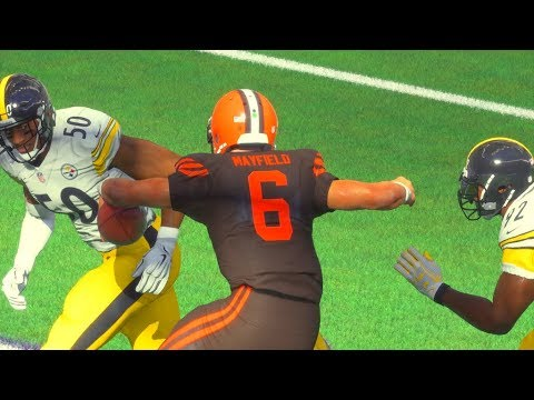 Madden 18 MUT Squads Top 10 Plays of the Week Episode 36 - INCREDIBLE BALANCE Baker Mayfield!