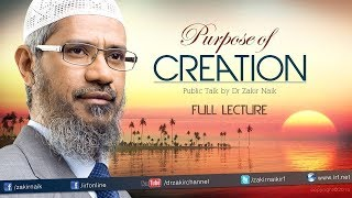 Video THE PURPOSE OF CREATION  | QUESTION AND ANSWER | DR ZAKIR NAIK MP3, 3GP, MP4, WEBM, AVI, FLV Agustus 2017