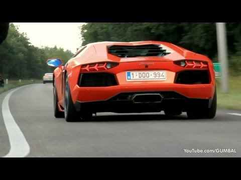 accelerating - Like on Facebook: http://on.fb.me/Gumbal Here is an amazing compilation video of +/- 50 supercars accelerating! You can see an amazing linup, like Aventador ...