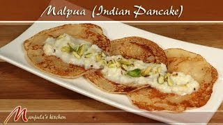 Malpura India  city pictures gallery : Malpua - Indian Pancake Dessert Recipe by Manjula