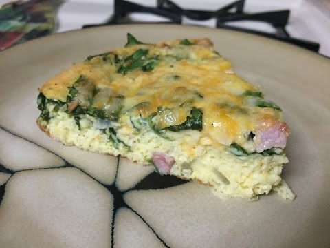 Easy Crustless Quiche