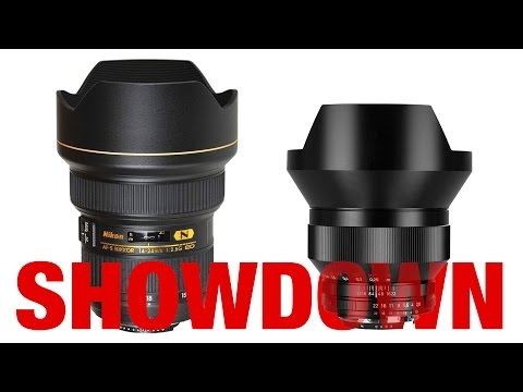 Nikon 14-24mm vs Zeiss 15mm - 2.8 Showdown