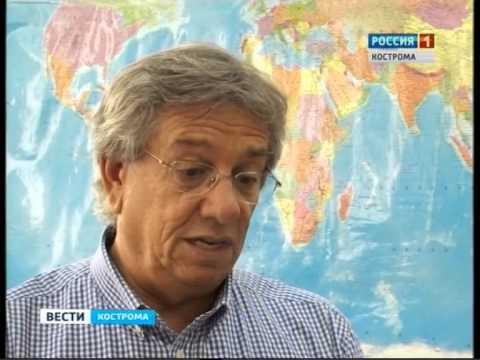 """Сюжет о визите делегации альянса """"Renault-Nissan"""" (ГТРК-Кострома)."""